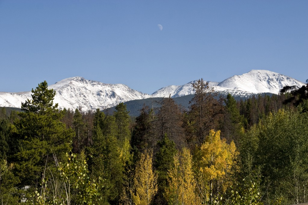 Mount Eva (left) and Witter Peak (right)