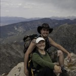 Me and my lovely wife on the summit of Pawnee Pass