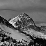 Mount Toll, black and white