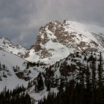 Indian Peaks, winter, Shoshoni Peak
