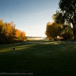 From the 11th tee, Broadlands GC.