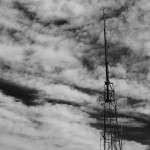 There is only one radio tower on Green Mountain, when I passed it looking up, I just make a click!