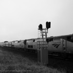 Amtrak #5 passes the signal at Chemical