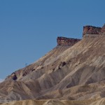 Mount Garfield on the south eastern end of the Book Cliffs, Palisade, CO