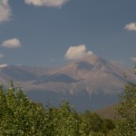 Mount Elbert on a summer morning.