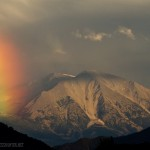 Mount Sopris rainbow