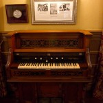 My Grandma and Grandad had a foot pump organ like this when I was a kid.
