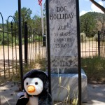 Husgy and Doc's grave marker.
