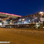 Norfolk Southern 7630 lead a southbound Laurel to Denver on the BNSF Front Range subdivision